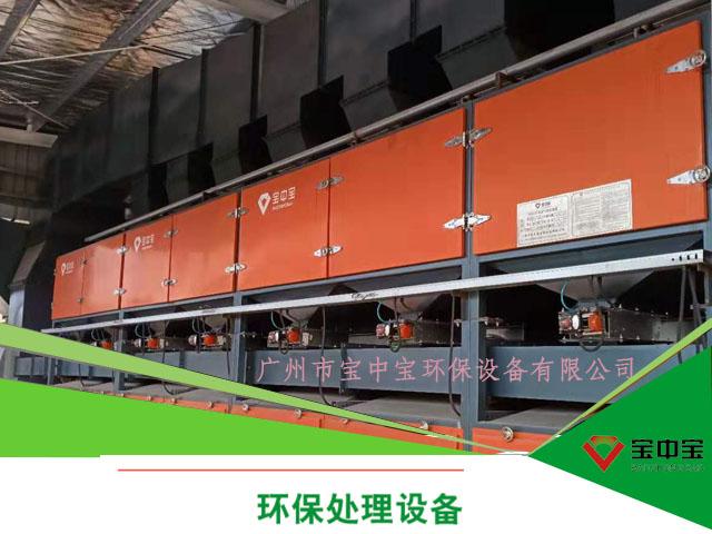2019年案例四:湖北江山重工三期活性炭吸附+催化燃烧一体设备